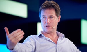 Nick Clegg at FutureFest in London last July.