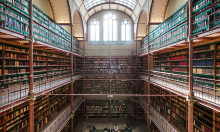 The Rijksmuseum's art history library