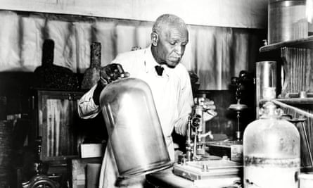 George Washington Carver in the late 1930s.