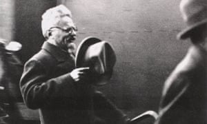 Exiled Russian Communist leader Leon Trotsky arriving in Paris after being offered asylum in France, 1933.