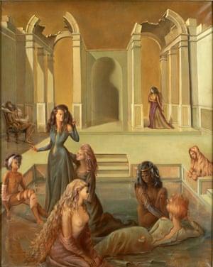 Leonor Fini's Un Jour à l'Autre II.