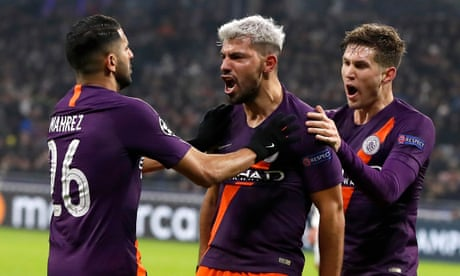 sneakers for cheap 57cb2 a8f2d Lyon 2-2 Manchester City: Champions League – as it happened ...