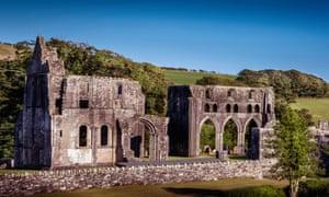 ruined Dundrennan Abbey