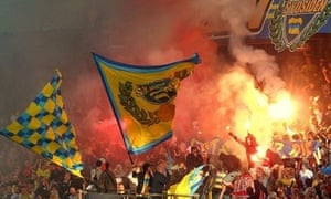 Brondby fans