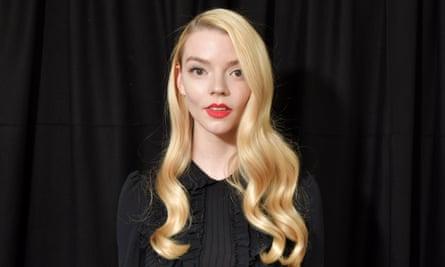 Anya Taylor-Joy at Paris Fashion Week 2020.