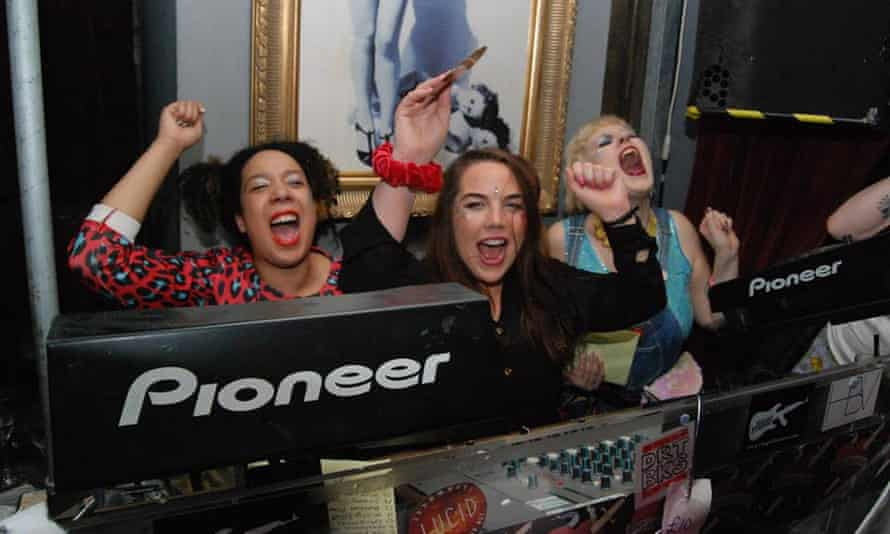 Gaggle DJs at Clit Rock, which is raising money for an FGM safehouse in Kenya
