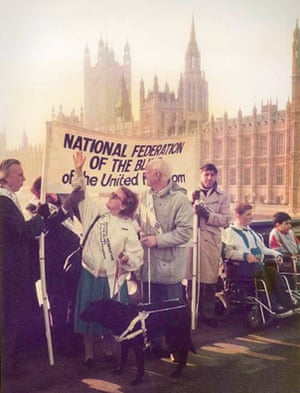 Photograph from the Disability Discrimination Act exhibition