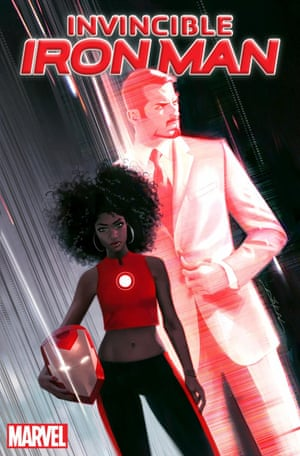 Cover of Invincible Iron Man #1