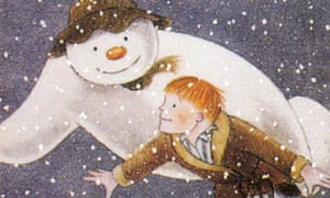 A still from the adaptation The Snowman.