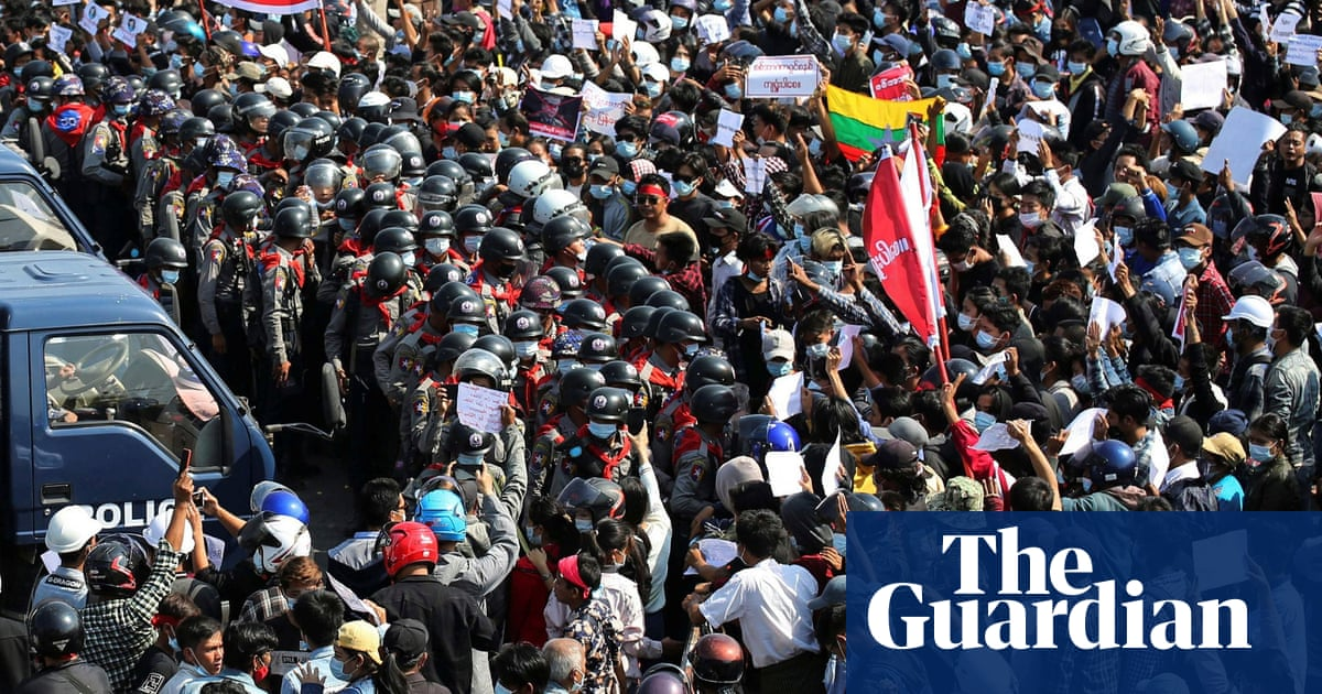 Myanmar coup protests grow – in pictures