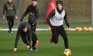 Mesut Özil could play against Chelsea having not played since Boxing Day.