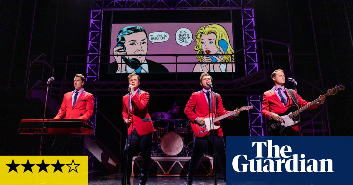 Jersey Boys review – Four Seasons story still hits all the high notes