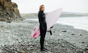 Surfer Sophie Hellyer, who claimed her words had been manipulated to suit an agenda.