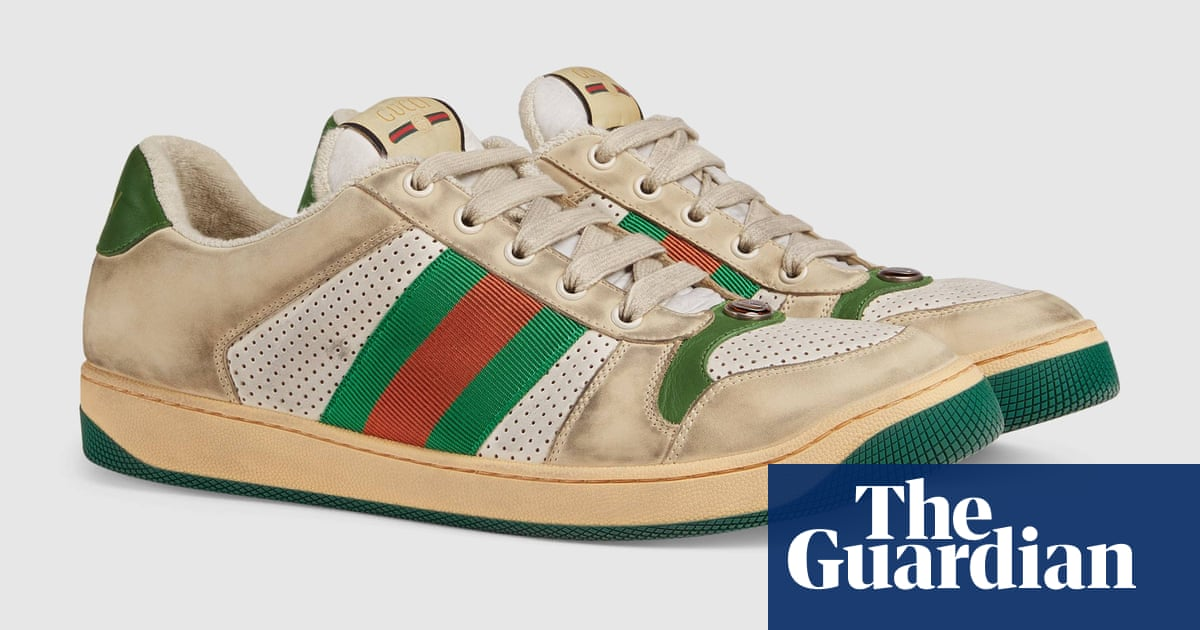 ff217c0f740 Who would pay £615 for a pair of dirty Gucci trainers