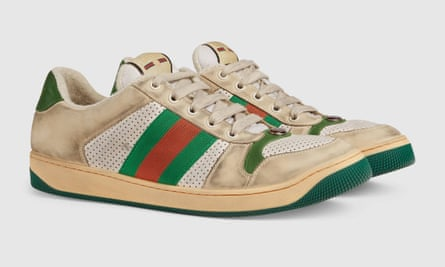 Gucci's Screener GG sneakers