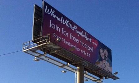 where white people meet dating billboard utah