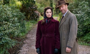 The spy who married her: Ruth Wilson and Iain Glen in Mrs Wilson.