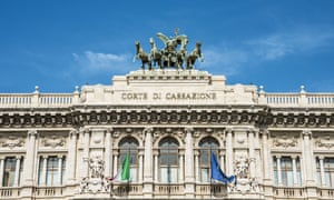Italy's court of cassation in Rome.