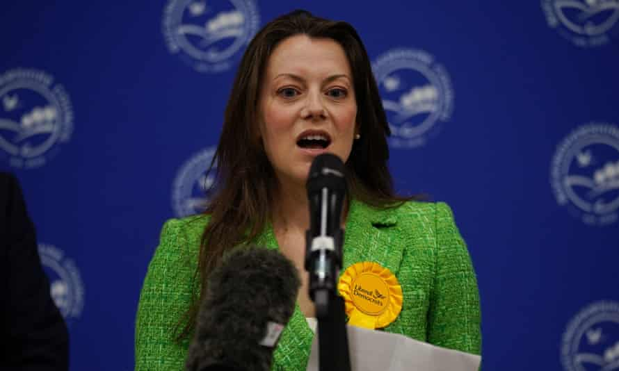 Newly elected MP, Sarah Green, overruled a majority of 16,000 in a district that had been conservative since its inception in 1974.