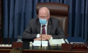 Senator Patrick Leahy, President Pro Tempore.