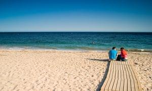 Agua Amarga beach Cabo de Gata natural park, Almeria,