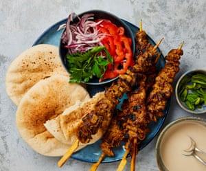Yotam Ottolenghi's DIY lamb shawarma