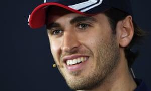 Sauber's Italian driver Antonio Giovinazzi