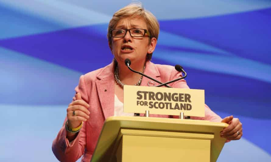 Joanna Cherry QC MP at the SNP's annual conference in October.