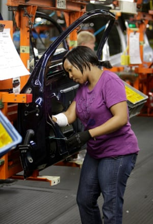 Inside General Motors' Lordstown assembly plant.