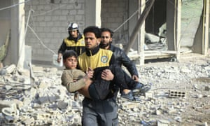 'In eastern Ghouta, nowhere is safe and there is no escape.'