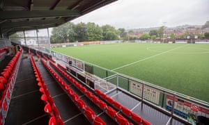 The main stand at Meadowbank. 'It's become a real hub of the community'.