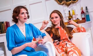 Charlotte Ritchie, left, and Lily Cole in The Philanthropist.