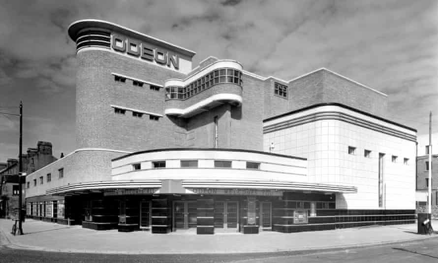 Morecambe Odeon in the 1930s.