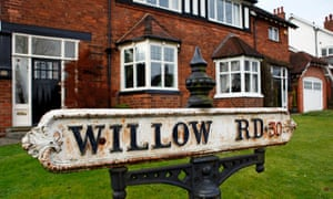 Willow Road in Bournville