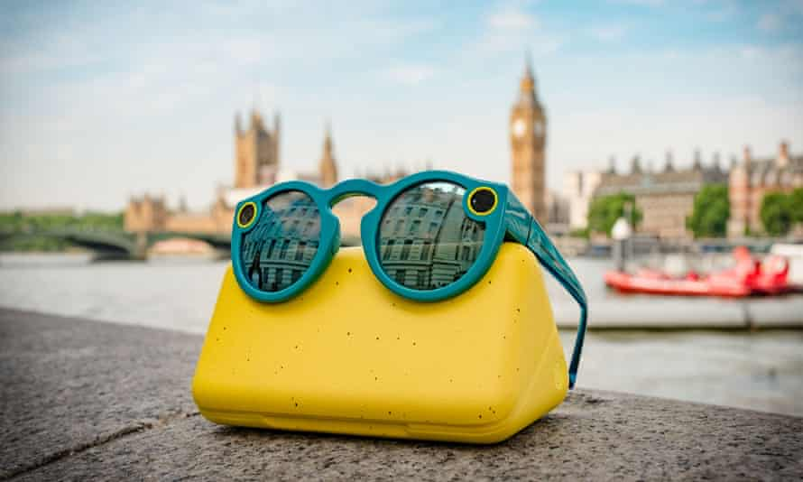 The oddest piece of hardware ever? Snapchat's Spectacles.