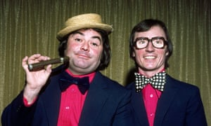 Large and Syd Little in 1977.