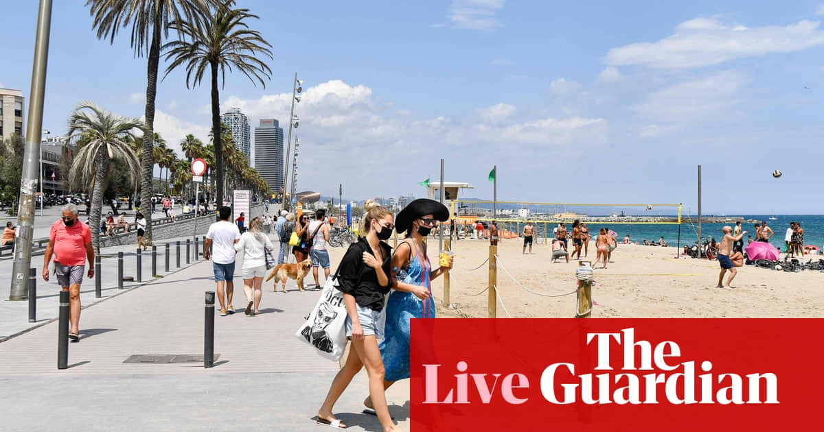 Coronavirus live news: Spain reopens to vaccinated tourists as Taiwan extends pandemic restrictions