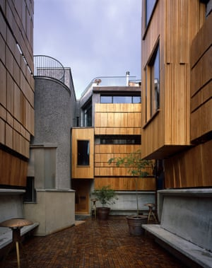 'Layers of privacy': Walmer Yard's intimate courtyard.