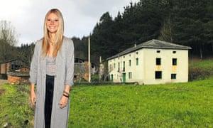 Gwyneth Paltrow and the rural village for sale near Lugo.
