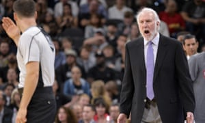 Gregg Popovich said: 'I can't imagine being a Muslim right now or a woman or an African-American, Hispanic, a handicapped person.'