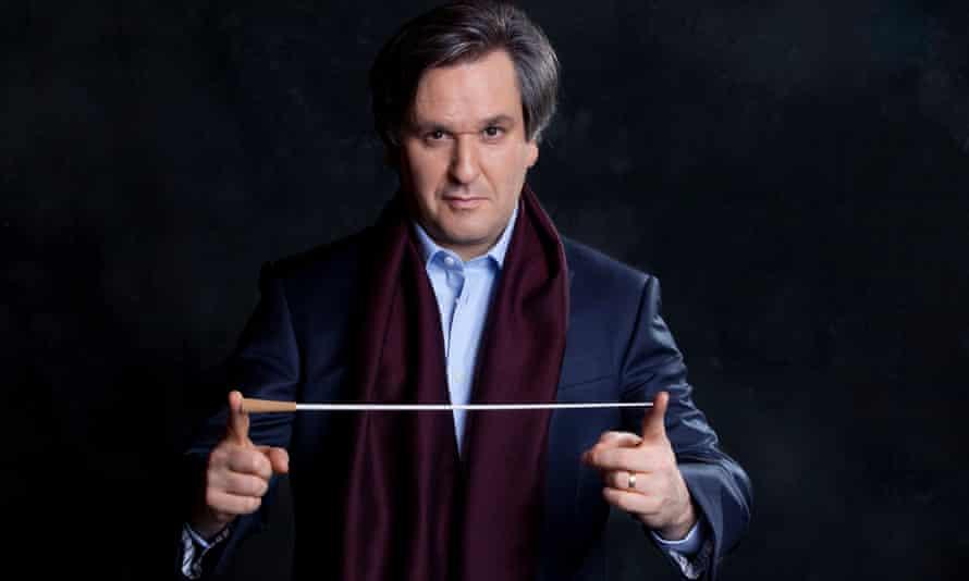 Antonio Pappano and the Santa Cecilia Orchestra.