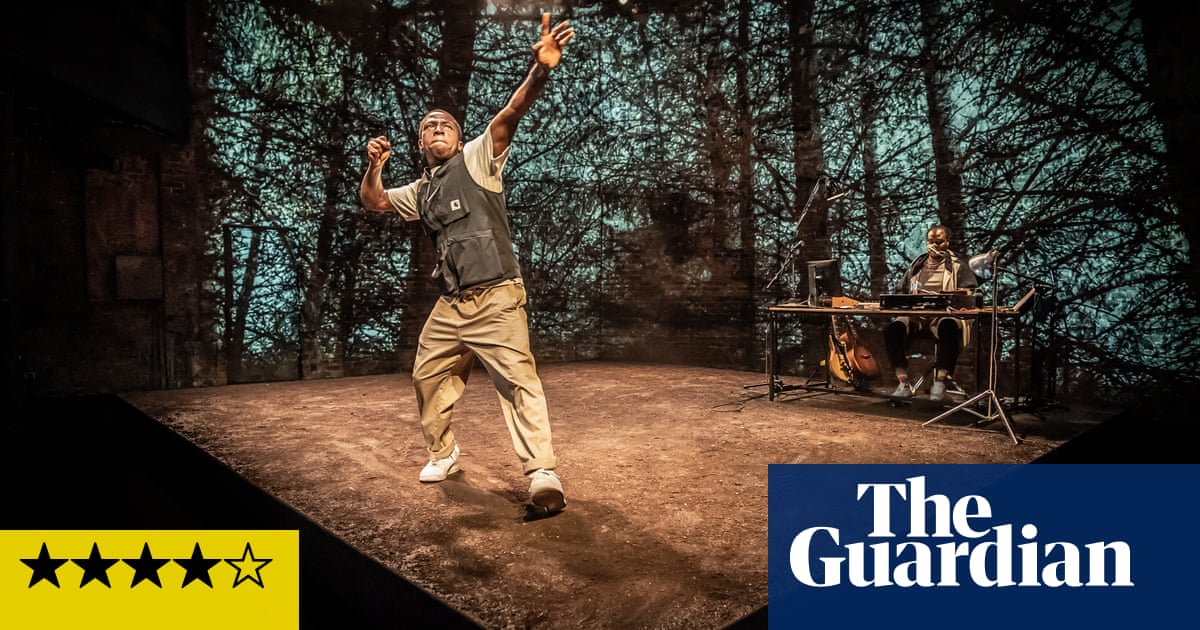 and breathe… review – powerful tale of family grief is poetry in motion