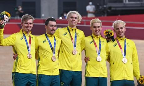 'Crazy few days': Australia rebound from crash to win men's team pursuit bronze