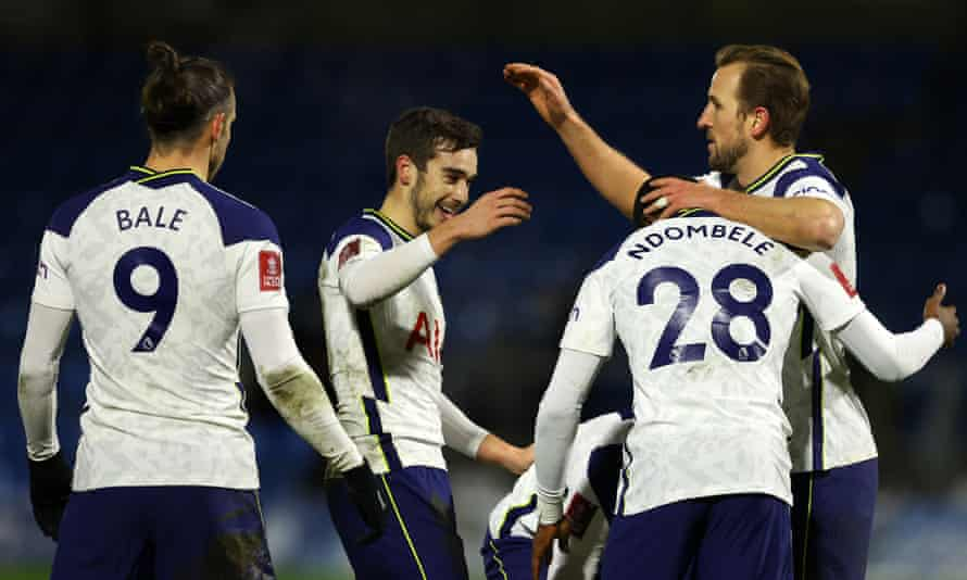 Bale, Winks and Ndombele ensure Spurs avoid Wycombe FA Cup shock | FA Cup |  The Guardian