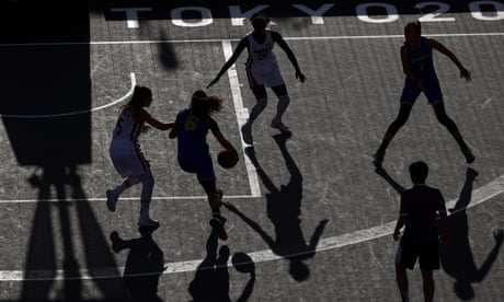 Shadows and silhouettes at the Tokyo 2020 Olympic Games – in pictures