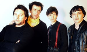 The Stranglers in 1982: Jet Black, Hugh Cornwell, Jean-Jacques Burnel and Dave Greenfield.