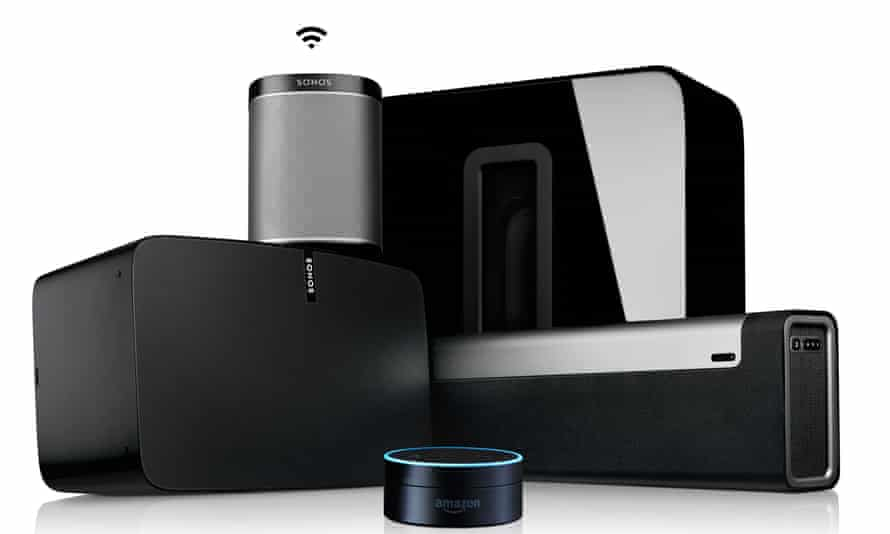 Part of the Sonos range, with Amazon's Echo Dot