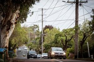 Streetscape ở Ringwood trong khu vực bầu cử Deakin của Victoria.