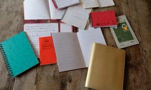 Susie Boyt's notebooks