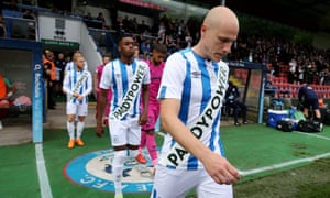 Huddersfield's Paddy Power shirt gamble did not pay off – they were fined £50,000 for breaking the FA's regulations.